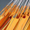Dvojna viseča mreža CURRAMBERA Apricot 2